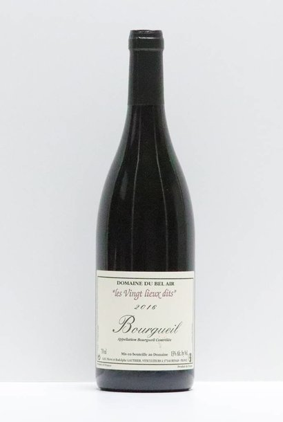 Vin - bel air bourgueil 2016 750 ml
