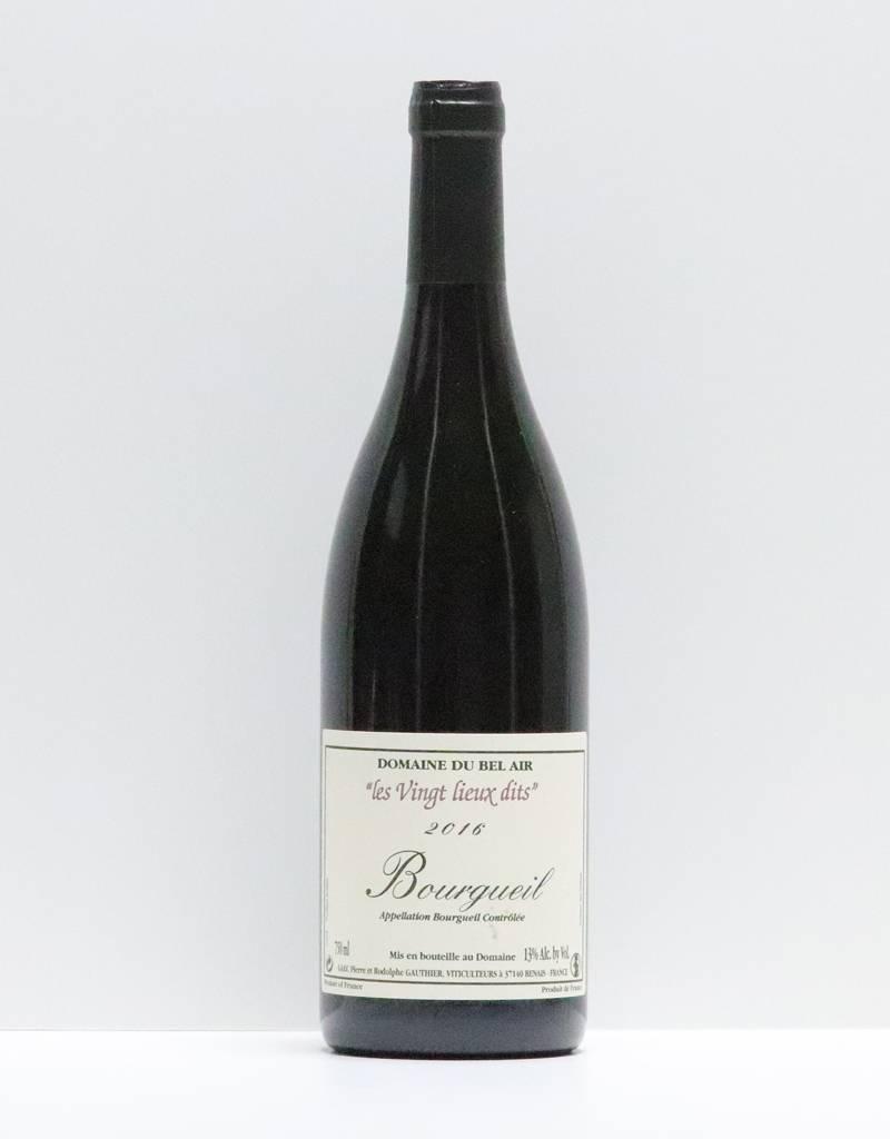 Vin - bel air bourgueil 2016 750 ml-1