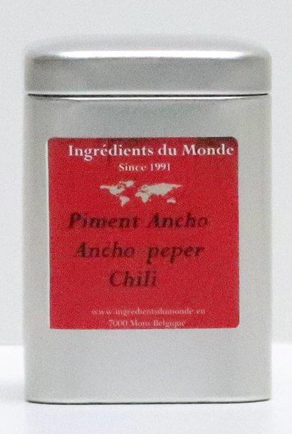Piment ancho du Mexique scoville 4 15 gr