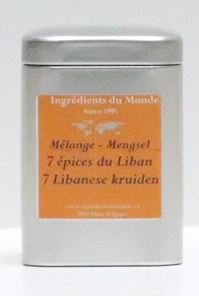Mélange 7 épices du liban 80 gr