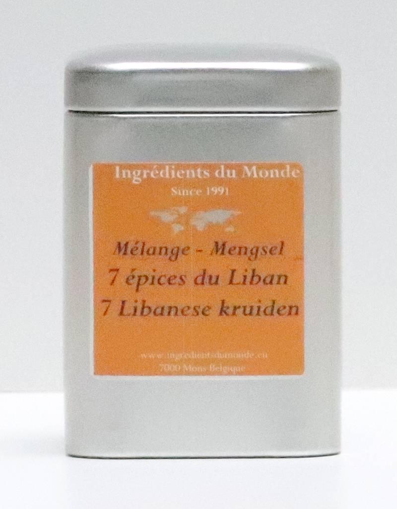 Mélange 7 épices du liban 80 gr-1