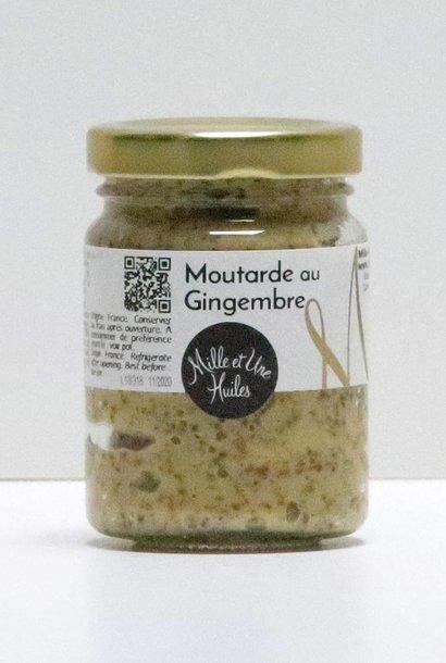 Moutarde au gingembre (en grains) 100 gr