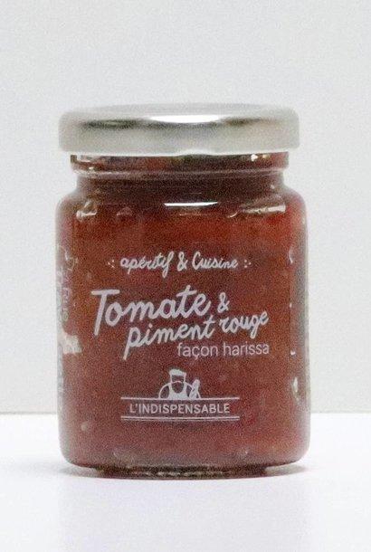 Pâte de tomate et piment rouge 90G