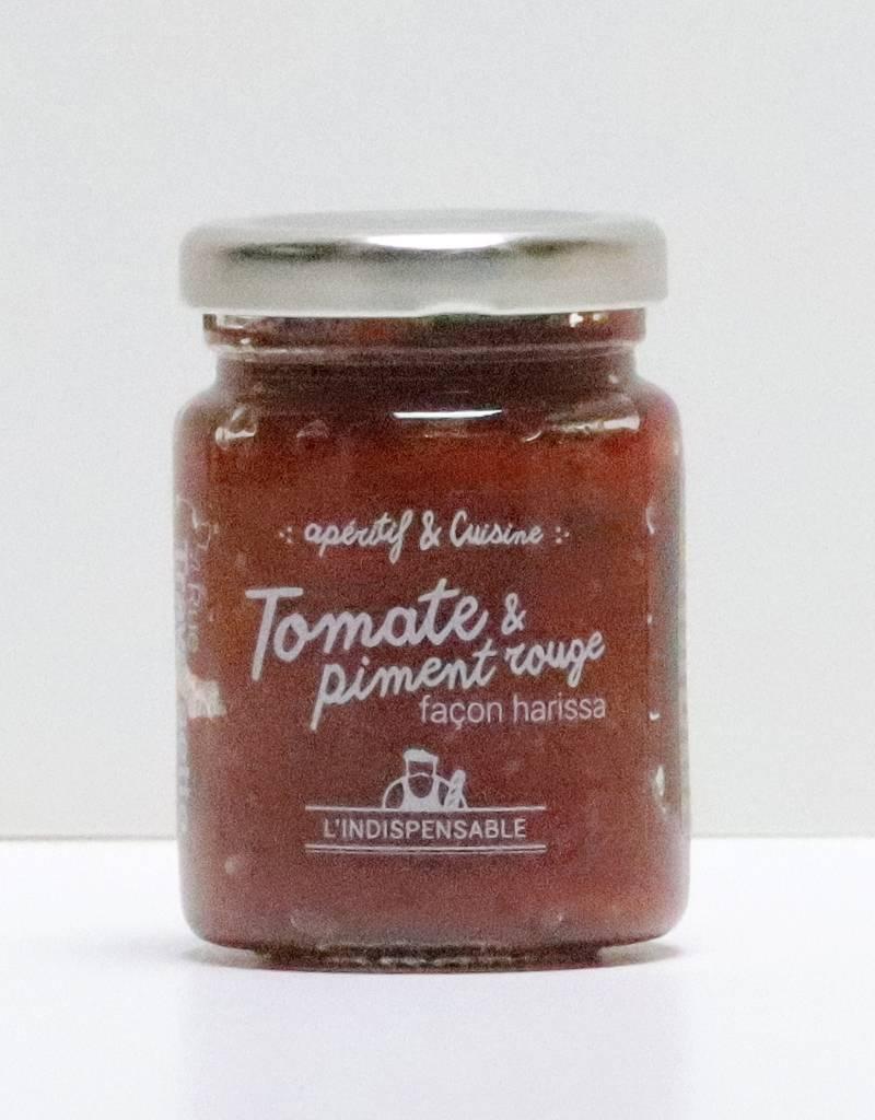 Pâte de tomate et piment rouge 90G-1
