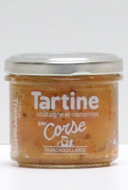 Tartine en Corse : Chataigne et clémentine 185G