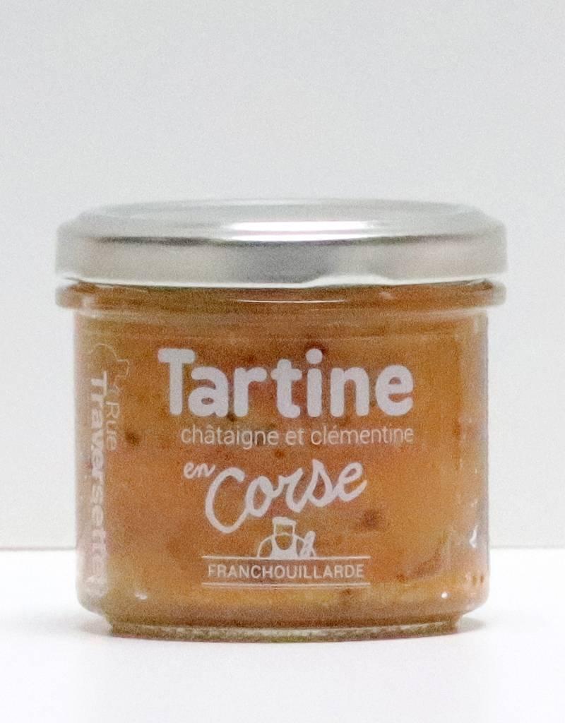Tartine en Corse : Chataigne et clémentine 185G-1