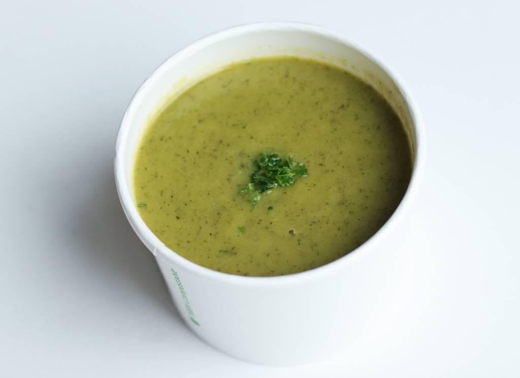 Green vegetables soup-1
