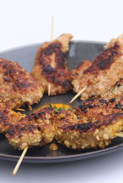 poulet aux saveurs cajun et curry Delhi