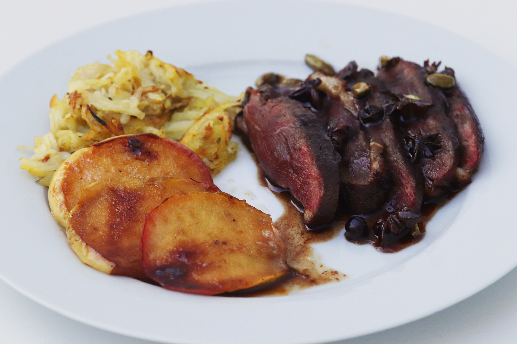 Duck with spicy honey-1