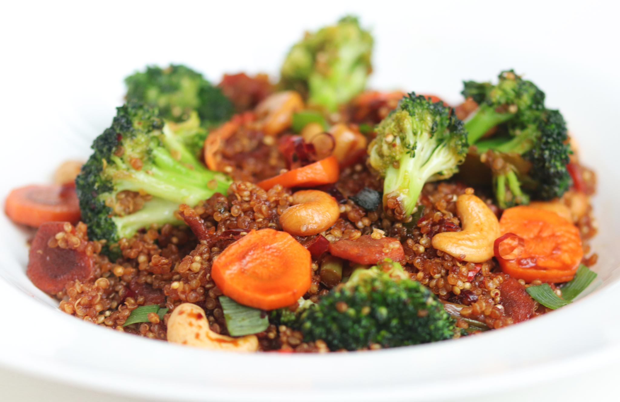 Sauteed quinoa with vegetables-1