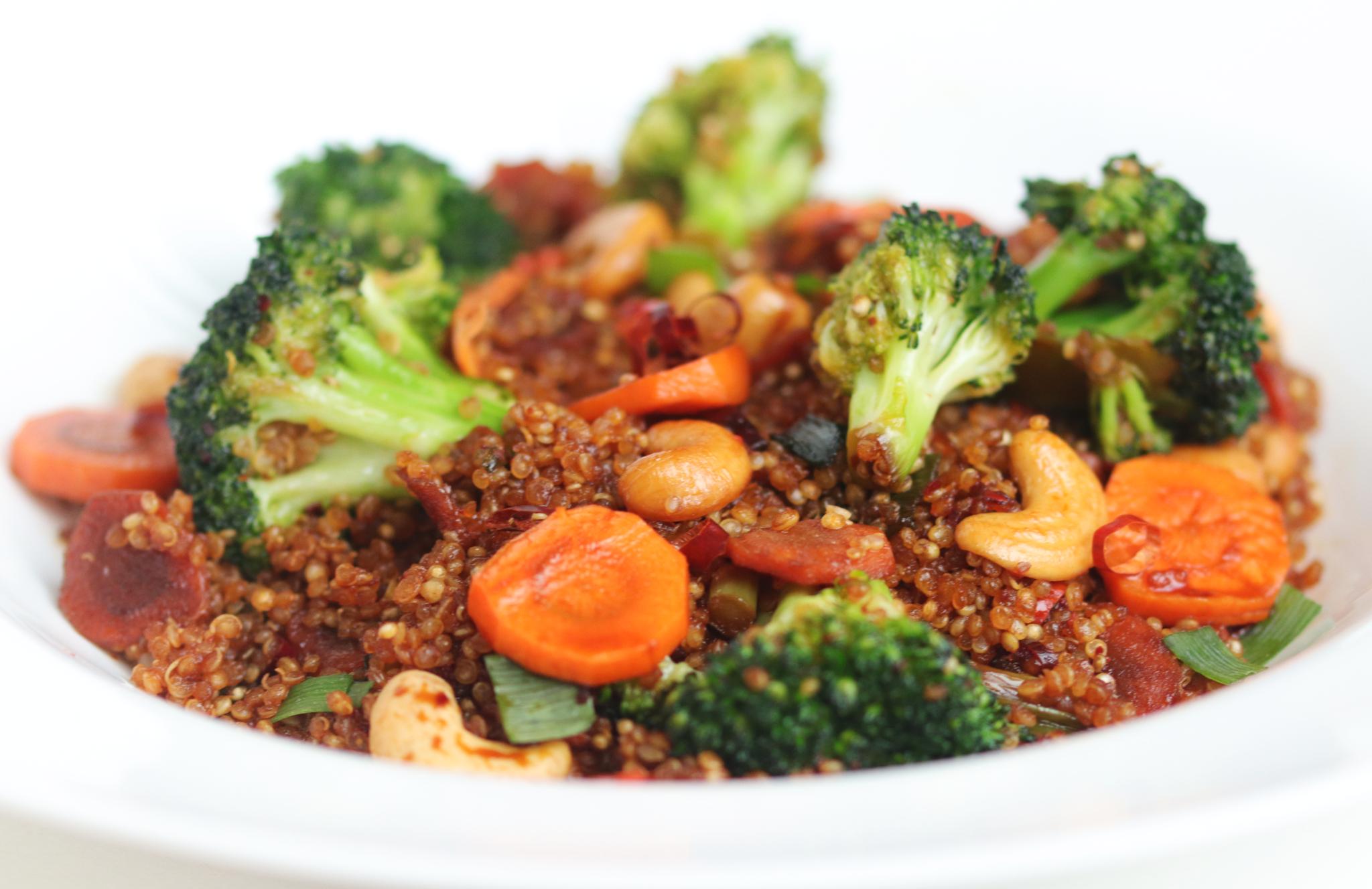 Quinoa sauté aux légumes-1