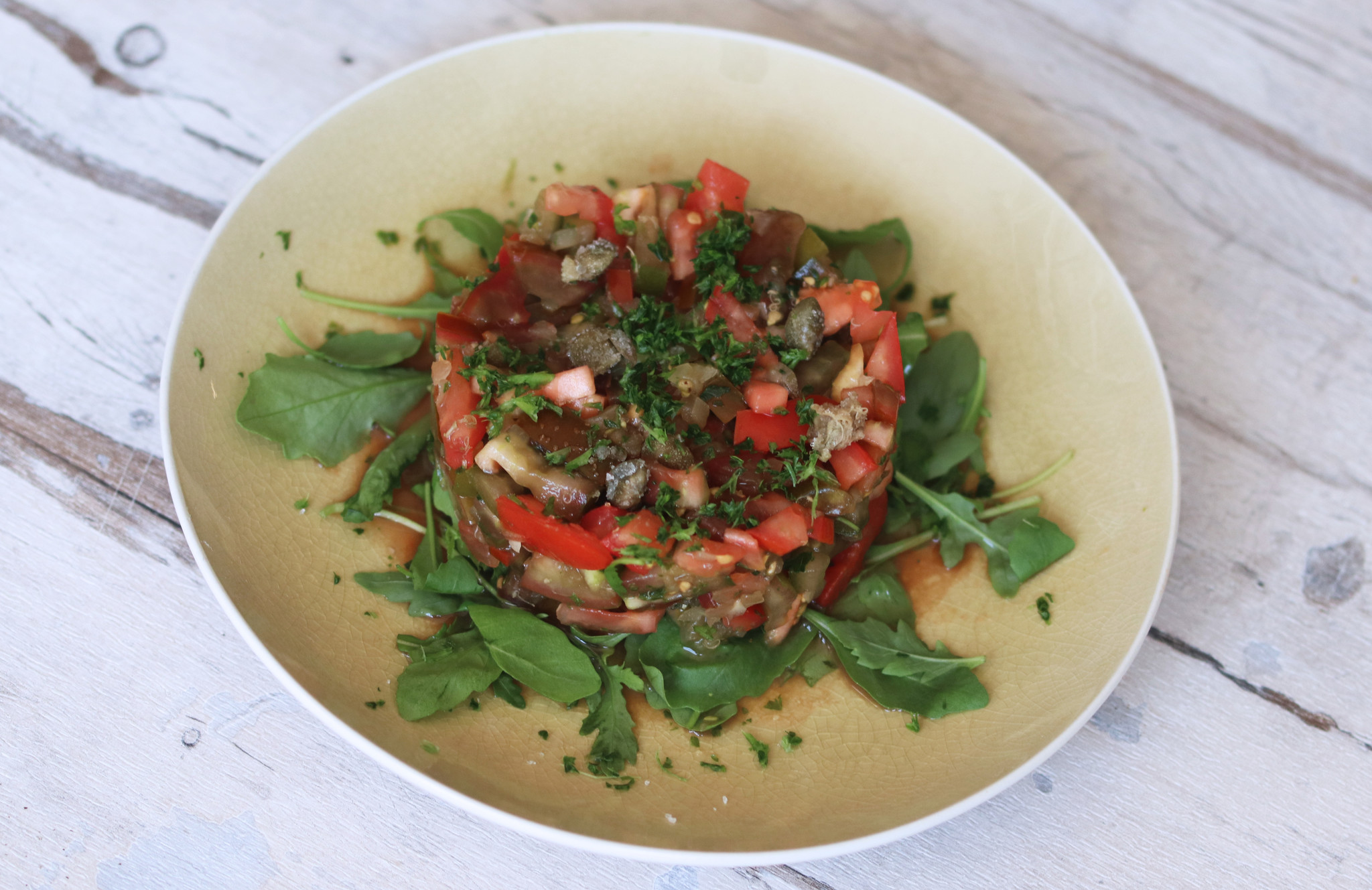 Vegetable tartare-1