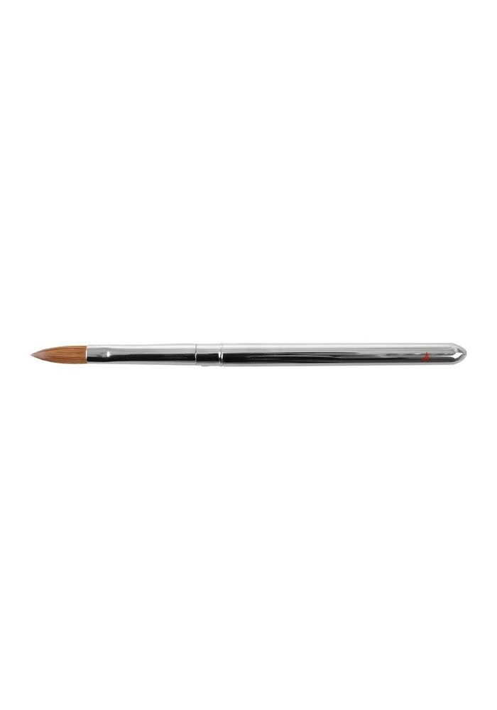 #10 Acrylic Brush Aluminium Handle