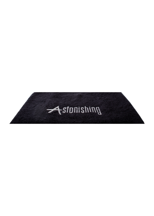 Astonishing Black Towel with Astonishing Logo