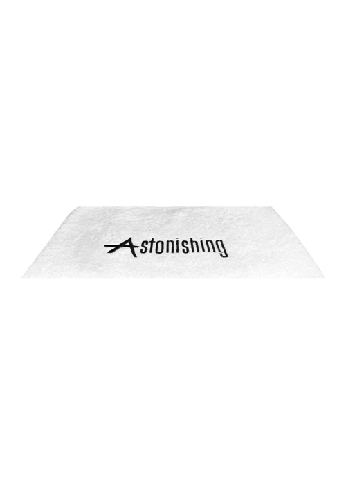 Astonishing White Towel with Astonishing Logo