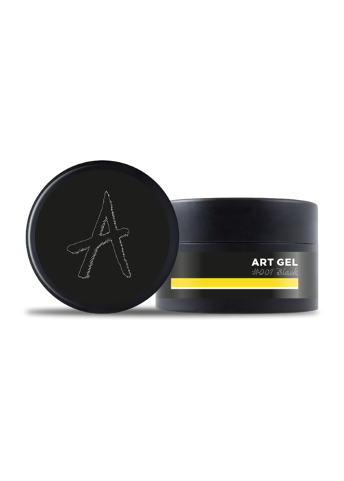 Astonishing Art Gel #001 Black 7gr