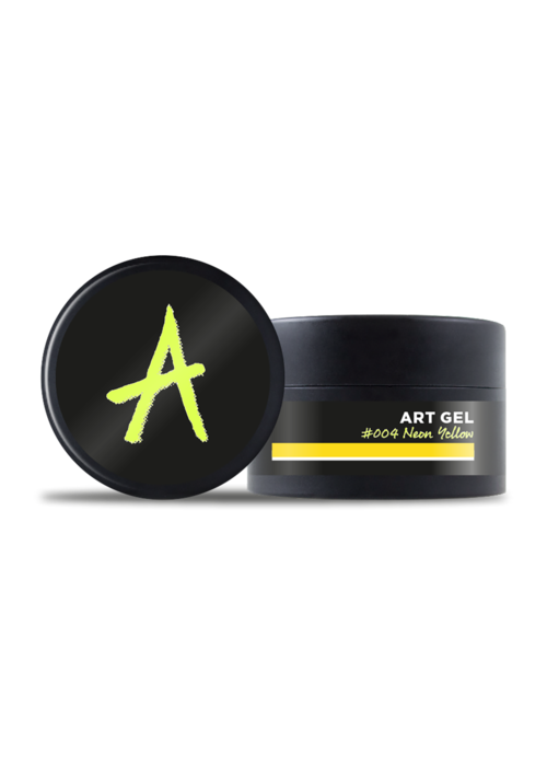 Astonishing Art Gel #004 Neon Yellow 7gr