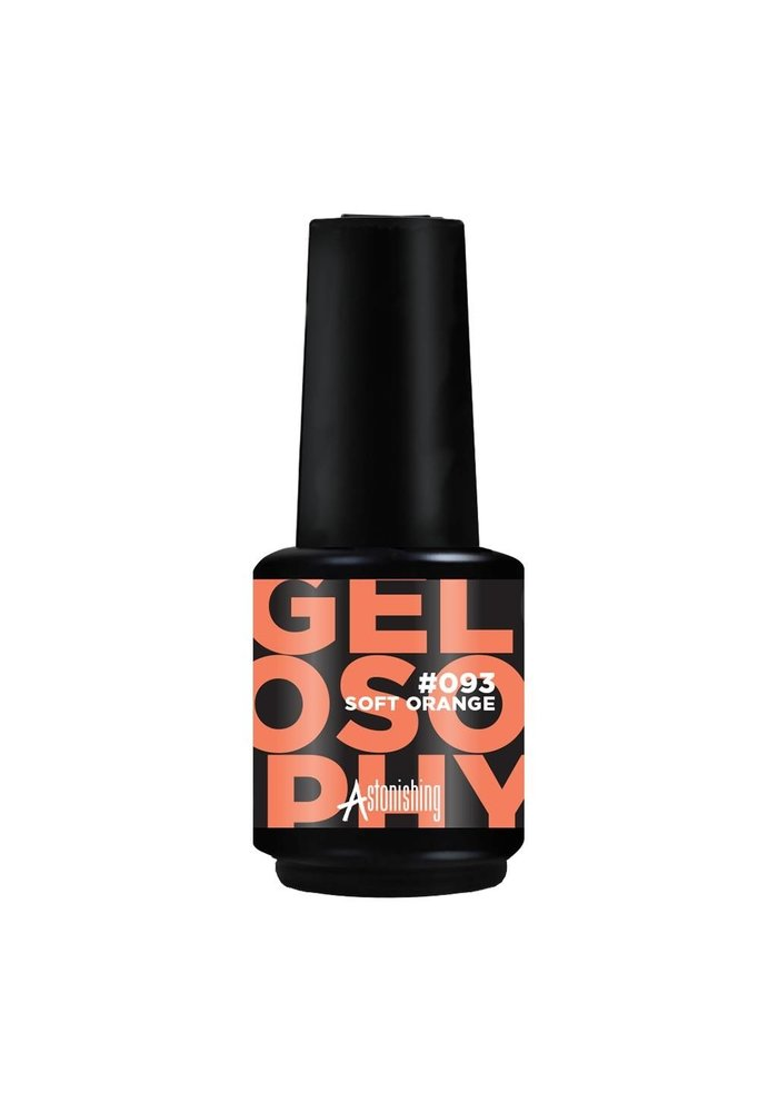 Gelpolish #093 Soft Orange 15ml