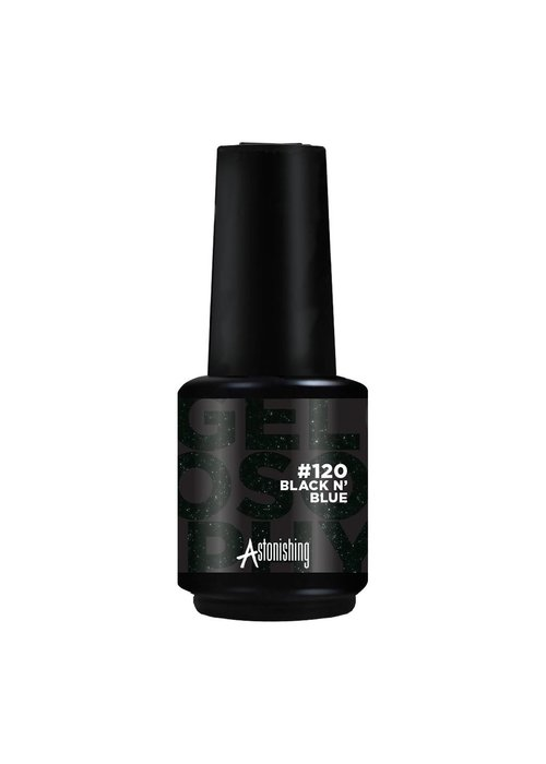 Gelosophy Gelpolish #120 Black N' Blue 15ml