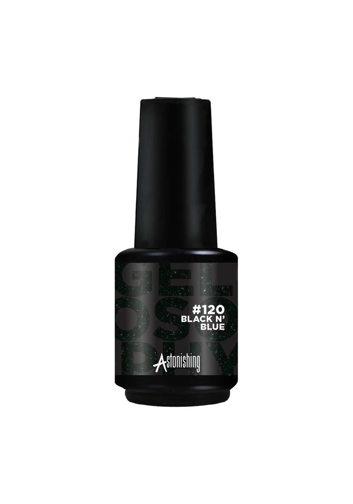 Gelpolish #120 Black N' Blue 15ml