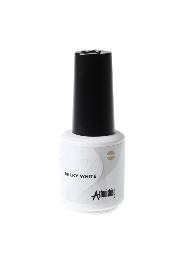 1 Step  Brush Builder Milky White 15ml