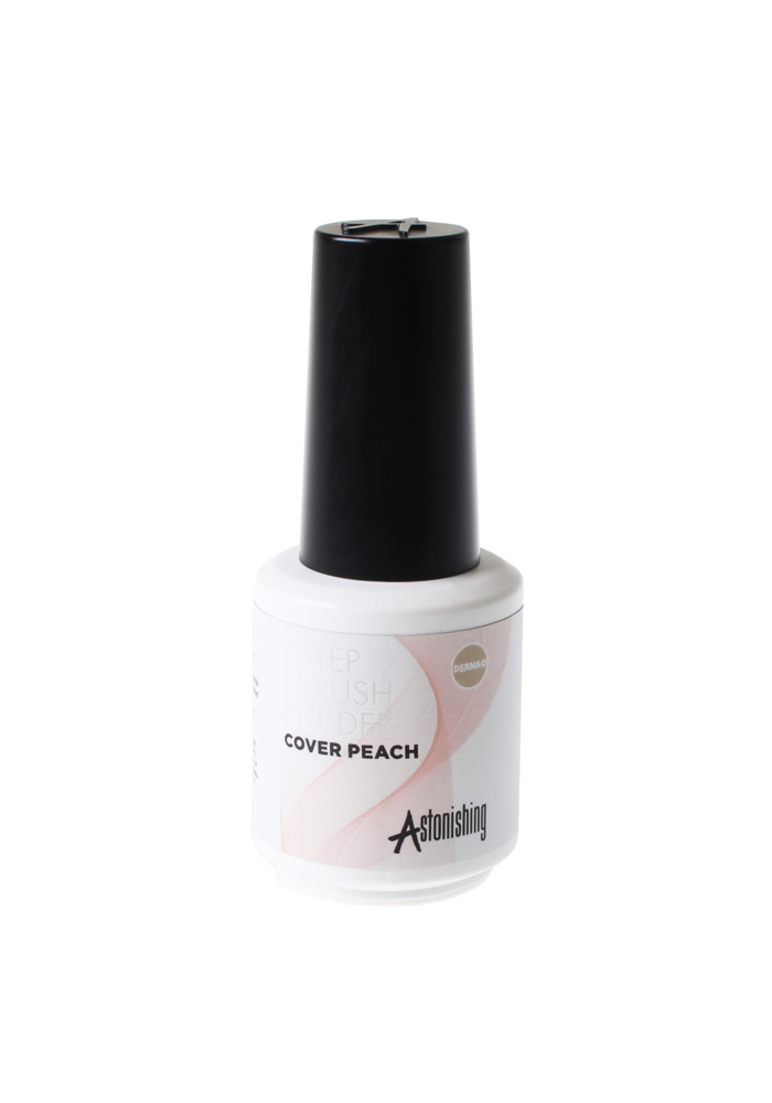 1 Step  Brush Builder Cover Peach 15ml