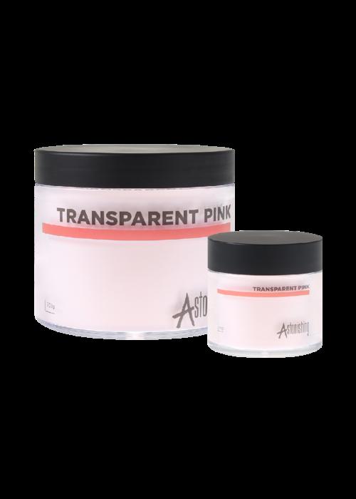 Astonishing Acrylic  powder Transparent Pink 250gr +25gr FREE