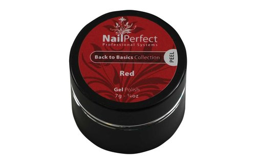 NailPerfect Color Gel Red 7g