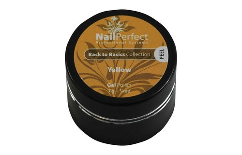 NailPerfect Color Gel Yellow 7g