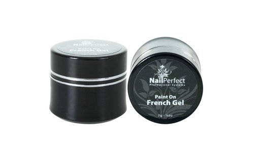 NailPerfect Paint On French Gel 7g