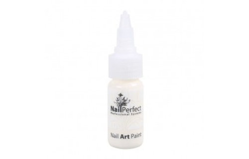 NailPerfect Nail Art Paint 003 Ivory White