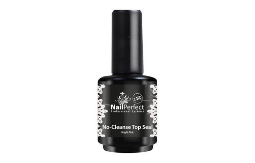 NailPerfect No-Cleanse Top Seal Bright Pink