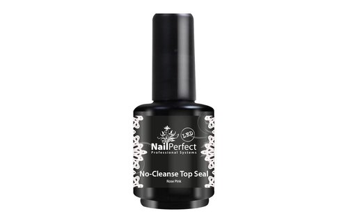 NailPerfect No-Cleanse Top Seal Rose Pink