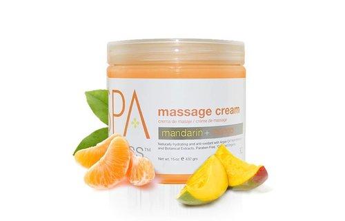 BCL SPA Mandarin + Mango Massage Cream 473ml