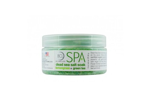 BCL SPA Dead Sea Salt Soak Lemongrass + Green Tea