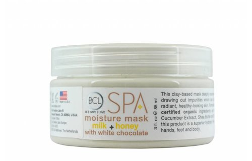 BCL SPA Moisture Mask Milk + Honey w/ White Chocolate