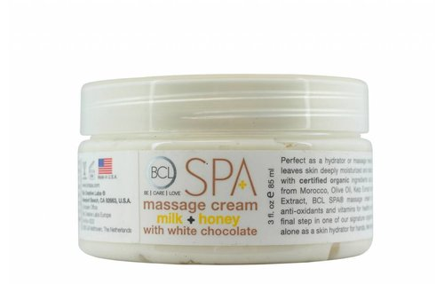 BCL SPA Massage Cream Milk + Honey w/ White Chocolate