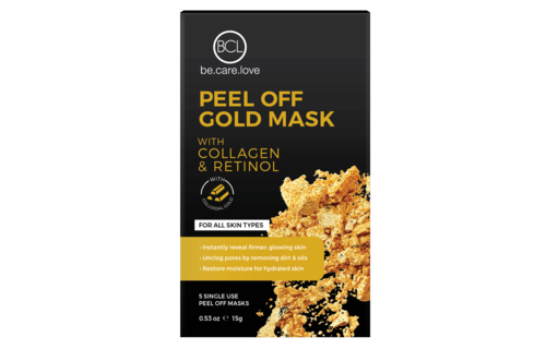 BCL SPA Peel Off Gold Mask (5 pcs)
