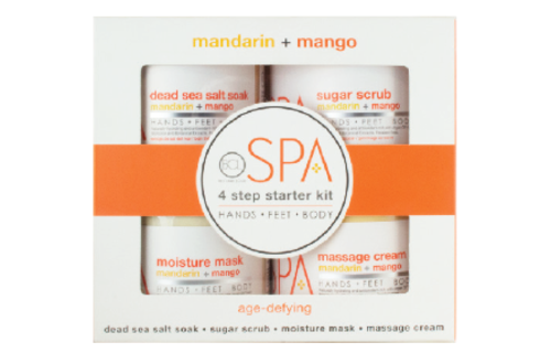 BCL SPA 4 Step Starter Kit Mandarin + Mango