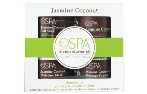 BCL SPA 4 Step Starter Kit Jasmine Coconut