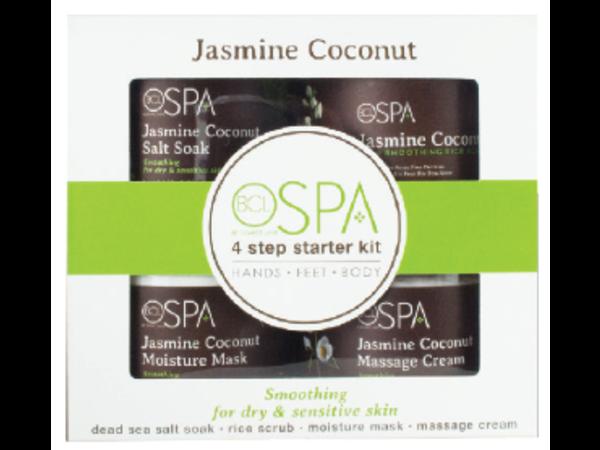 Bcl Spa 4 Step Starter Kit Jasmine Coconut Skin Smoothing