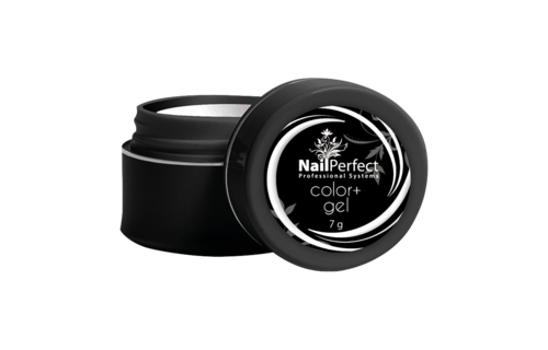 NailPerfect Color+ Gel White 7g