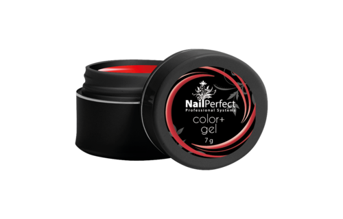 NailPerfect Color+ Gel Red 7g