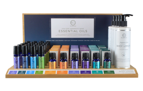 BCL SPA Essential Oil Display