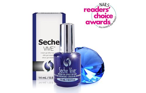 Seche Vive Gel Effect Topcoat 14 ml