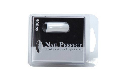 No Label Navulling Tips Salon Perfection 50st