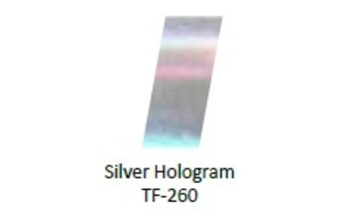 No Label Transfer Foil Silver Multi TF-178