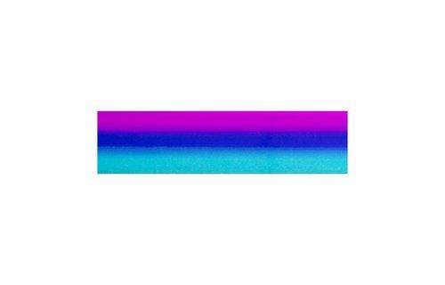 No Label Transfer Foil Rainbow Groen TF-8