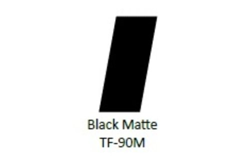 No Label Transfer Foil TF-90M Black Mat