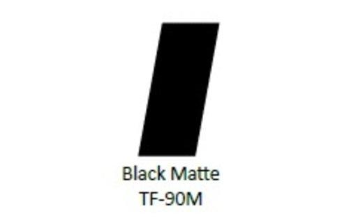 No Label Transfer Foil TF-90M Zwart Mat